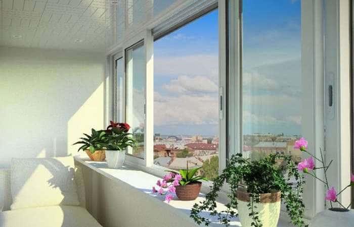 Холодное остекление балкона в Одессе