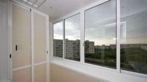 Теплое остекление балкона в Одессе